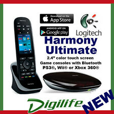 Logitech Harmony Ultimate Remote Control Bluetooth Smartphone Harmony Hub