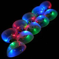 Diabolo-Malabares sueño LED Glow Diablo-eje fijo Luz Diablo-no palos