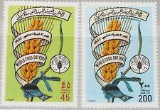 LIBYEN LIBYA 1981 938-39 967-68 World Food Day Welternährungstag Ähre Pflug MNH