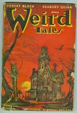 Weird Tales March 1947 G/VG Sturgeon, Bloch, Lovecraft