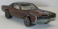 Redline Hotwheels Brown 1968 Custom Eldorado