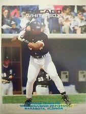 CHICAGO WHITE SOX 1993 SPRING TRAINING PROGRAM - FRANK THOMAS ON COVER - NR MINT
