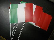 Confezione 100 bandierina Italia cm.10x15