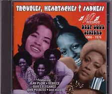 Deep Soul Sisters 1966-1976 Various Artists - Troubles Heartaches & Sadness - CD