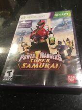 Power Rangers Super Samurai (Microsoft Xbox 360 Brand New Factory Sealed