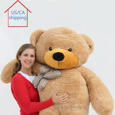 "Joyfay® 78"" Giant Teddy Bear 200cm Brown Huge Plush Toy Birthday Gift"