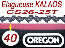 CHAINE OREGON pour Elagueuse thermique KALAOS CS26-25T   cs2625t