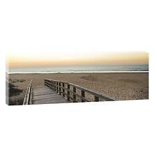 Am Meer  -Bilder Keilrahmen Leinwand  Poster  XXL Meer Strand -120cm*40cm 480