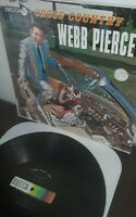 """WEBB PIERCE LP """"cross country"""" DECCA RECORDS country  DL 4294 VINTAGE COUNTRY"""