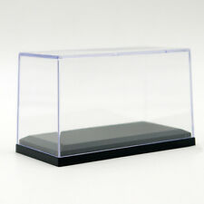 Acrylic Display Case For 1:64 Scale Car W. Black Base For Diecast Model Toy Car