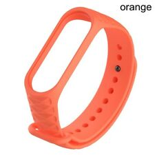 Soft Bracelet Silicone Watch Strap 3D Print Wrist Band For XIAOMI Mi Band 4 3