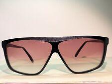 VINTAGE Elio Capucino collection Italy  SUNGLASSES NOS D-6001 62 20 631 BLK pink