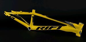 "Rift Bmx Race  Frame Pro XL Yellow 21"" tt"