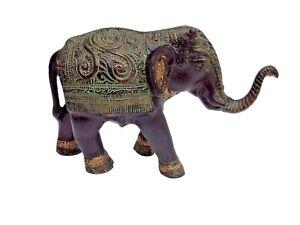 Aluminium LARGE Elephant Figurine Sculpture  a/u