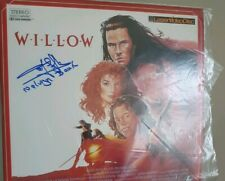 More details for willow laserdisc signed by rusty goffe