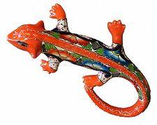 """Mexican Talavera Medium Iguana 16"""" x 10.5"""" Ceramic, Pottery, Handmade"""