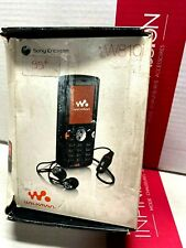 Sony Ericsson W810i Mobile Phone Old Stock Rare collectors Mobile Phone Cell GSM