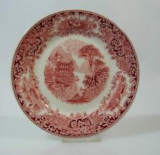 Royal Sphinx Regout Maastricht Kuchenteller Old England rot Keramik Holland 20cm
