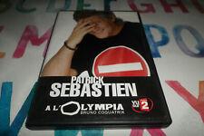 DVD - PATRICK SEBASTIEN A L OLYMPIA  //   PATRICK SEBASTIEN / DVD