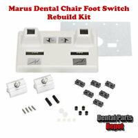 Marus Dental Chair Foot Switch Rebuild Kit (DCI #2761)