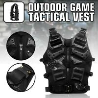 Tactical Military EVA Airsoft Molle Combat Army Plate Carrier Adjustable Vest