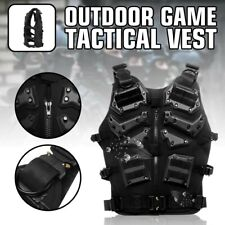 Tactical Military Eva Airsoft Molle Combat Army Plate Carrier Adjustable