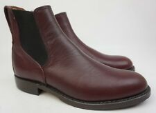 Red Wing Congress Chelsea Boots 9077 Burgundy Leather Size 7 D