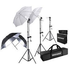Neewer 600W Photography Studio Triple Continuous Lighting Kit