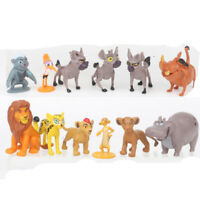 12 PCS The Lion King Simba Mufasa Pumbaa Action Figure Kids Gift Cake Topper Toy