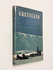 GREENLAND  THE ROYAL DANISH MINISTRY HC/DJ 1952/1960 INUIT ARCTIC GREENLAND