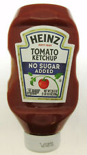 """Heinz """" No Sugar Added """" Tomato Ketchup ~ 29.5 oz Squeeze Bottle"""