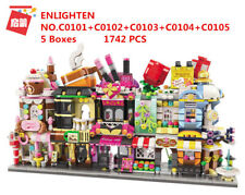 ENLIGHTEN C0101-0105 Kids Building Toys MINI Blocks Girls Puzzle 1742 pcs 5Boxes