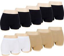 5-20 Damen Pants Hotpants Hipster Panty Unterwäsche Microfaser M L XL XXL XXXL