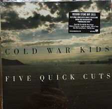 "Cold War Kids - Five Quick Cuts 10"" Vinyl RSD 2015 Record Store Day"