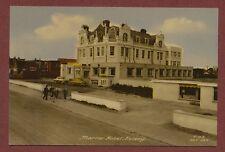 Marine Hotel Selsey Sussex Vintage Postcard L1253
