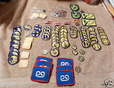 Pioneer clubs Voyager Activity Awards Iron ON Patches Huge lot 1988-89 Free Ship