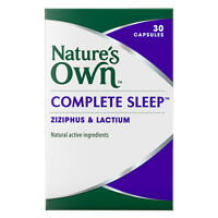 1 x Nature's Own Complete Sleep 30 Capsules ::Ziziphus & Lactium::