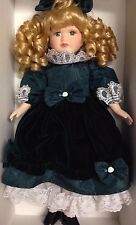 Victorian Collection Genuine Procelain Doll by Melissa Jane 1995 Limited Edition