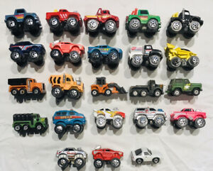 Micro Machine Vehicles by Galoob - cars, trucks, limo, 4X4s - Lot of 23! 80s-90s