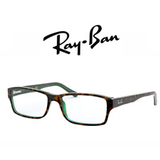 Computer Reading Glasses Ray Ban RB 5169 5974 54 16 140 Brown Havana On Green +