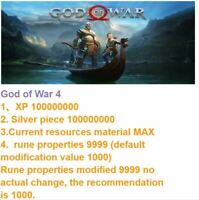 God of War Save data mod service! For PS4 & PS5 !