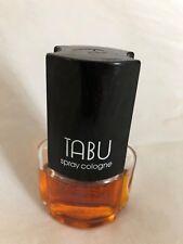 Dana TABU Eau De Cologne Perfume 1.2 Oz (80% Full) Spray