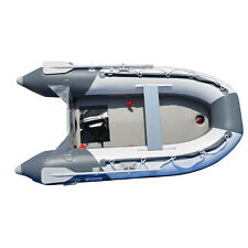 8.2 ft Inflatable Boat Inflatable Pontoon Dinghy Raft Boat  With Air-deck Floor