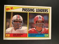1984 Topps #202 DAN MARINO ROOKIE RC Passing Leaders SET BREAK MINT