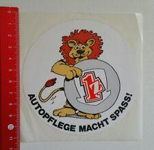 Aufkleber/Sticker: 1z - Löwe - Autopflege macht spass (18051639)