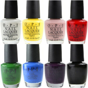 OPI Nail Lacquer Polish 15ml - (Sorted A - L) - 454 Colours