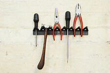 Linic Pack of 4 Wall Tool Racks Garage Shed Tool Organiser Wall Mount. S7511