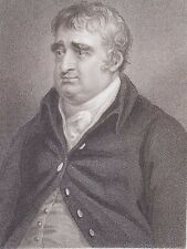 """Charles James Fox"" engraving after Richter by Freeman for Fisher & Son 1830"
