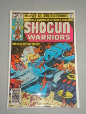 SHOGUN WARRIORS #13 VOL 1 MARVEL COMICS FEBRUARY 1980