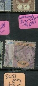 LEEWARD ISLANDS (PP0105B)  QV  2 1/2D-4D  SG 3-4    VFU